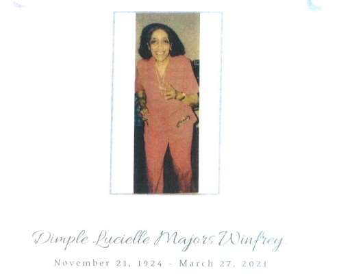 Dimple Winfrey Obituary