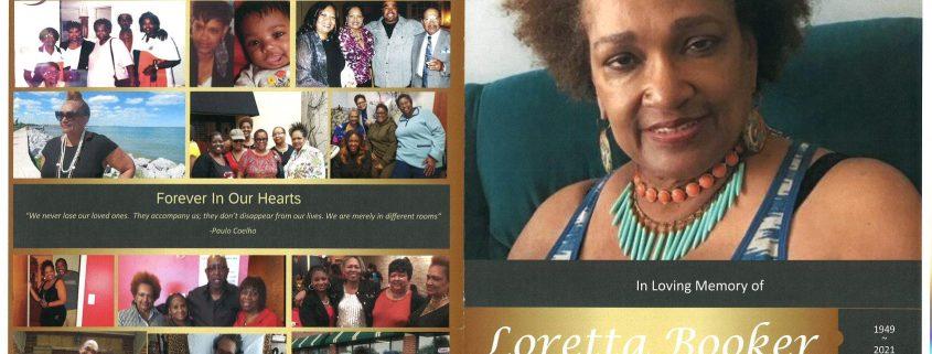 Loretta Booker Obituary