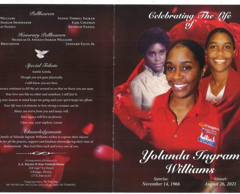 Yolanda I Williams Obituary