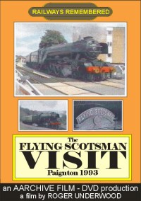 The Flying Scotsman visits Paignton 1993