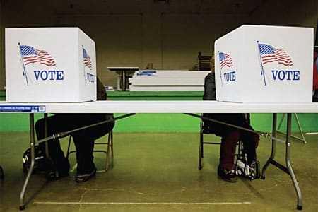 Verkiezingen Amerika 2008