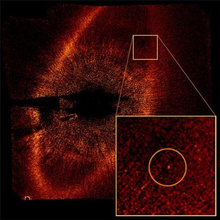 Fomalhaut HR 8799 exoplaneet