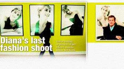 Diana's Last Fashion Shoot