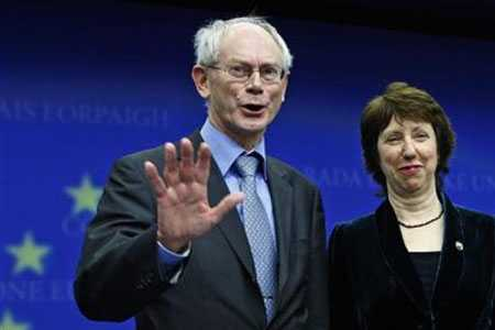 Herman Van Rompuy Lady Catherine Ashton