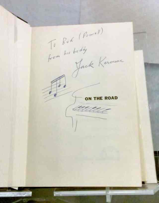 Jack Kerouac handschrift
