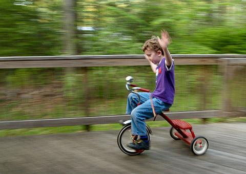 Weekend Trike Warrior