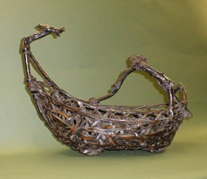 basket boat used at Ann Arbor Jewish religious school Beit Sefer