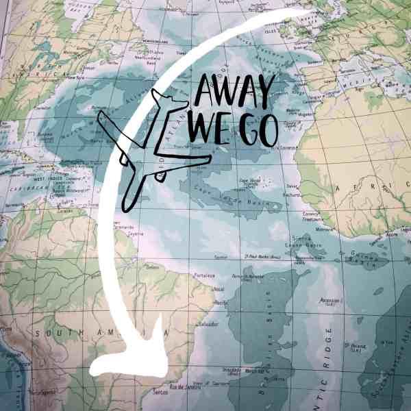 Rejsen til Sydamerika