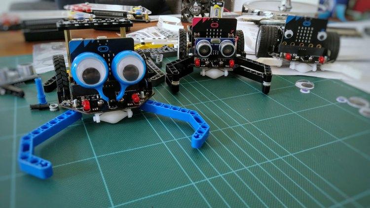 Robotter med micro:bit