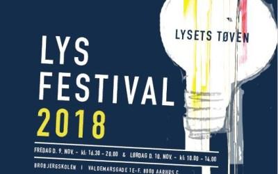 Kom til Lysfestival i Aarhus 9. og 10. november