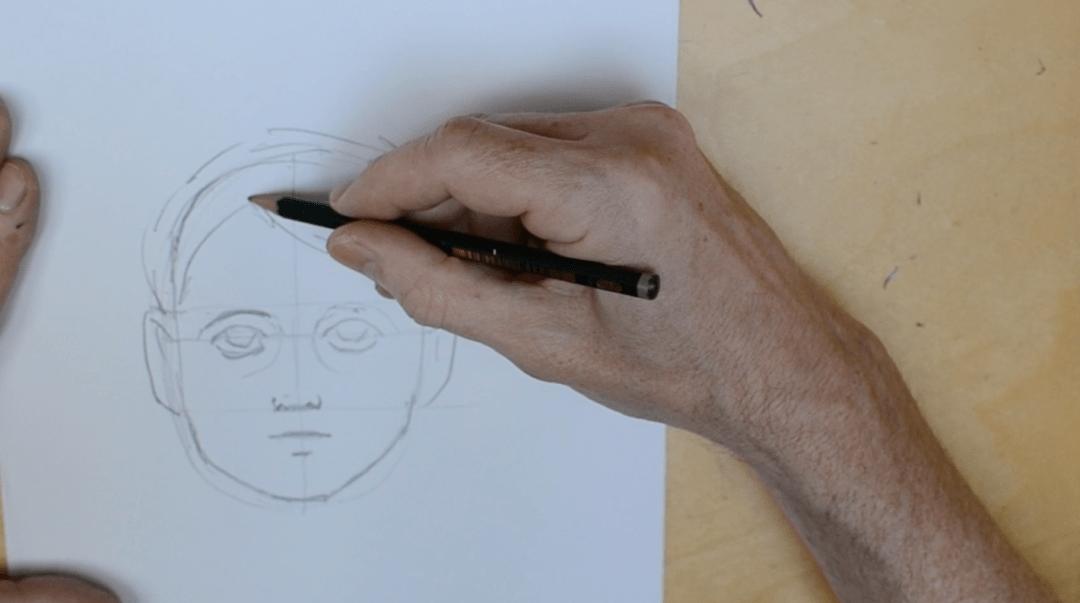 Tegn et hoved