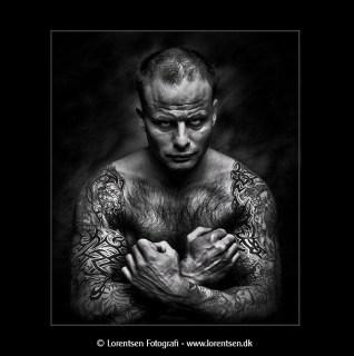 portrætfoto aarhus fotograf lorentsen tatovering foto