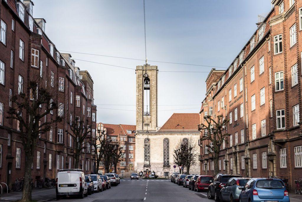 Sankt Lukas Kirke Aarhus Panorama