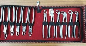 Extraction Forceps Set-GDC