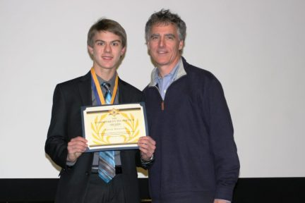Aaron with Cook County Sheriff Tom Dart