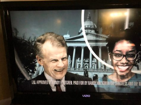 Sample campaign attack ad from Republican Congressman Randy Hultgren targeting Democrats Michael J. Madigan and challenger Lauren Underwood.