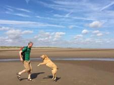 Aaron + Spice Mablethorpe beach