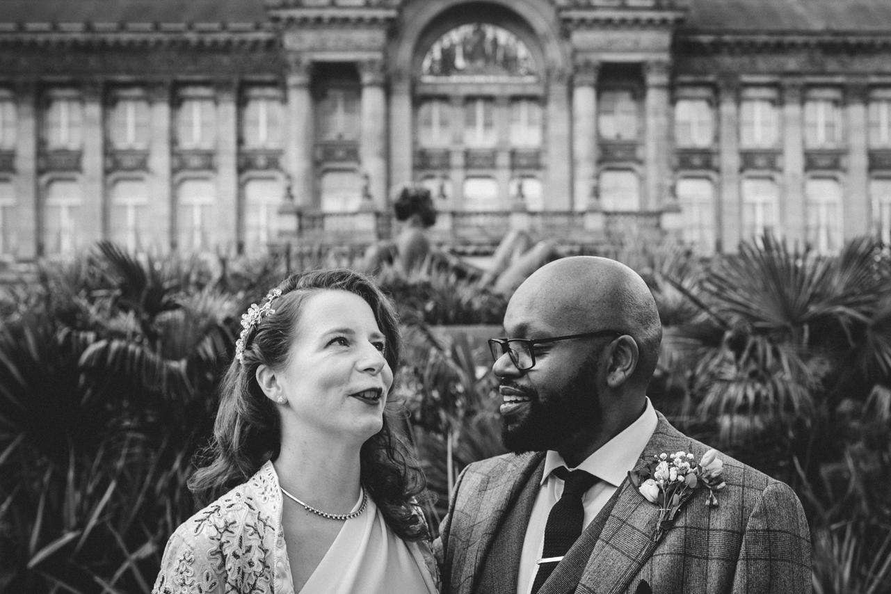 Wedding at Birmingham Council House