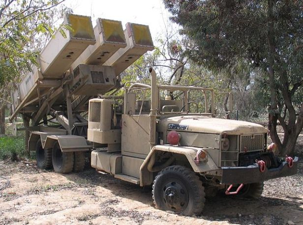 Color photograph of anti-radiation missile launcher. Prequel to Eleventh Hour Covenant.