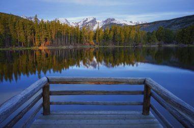 An Incredible View At Sprague Lake