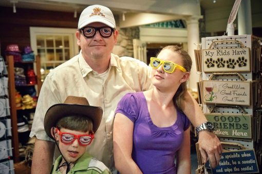 Aaron, Kaitlyn And Kyle Fuhrman