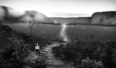 Rain Soaked Kilauea Iki Landscape