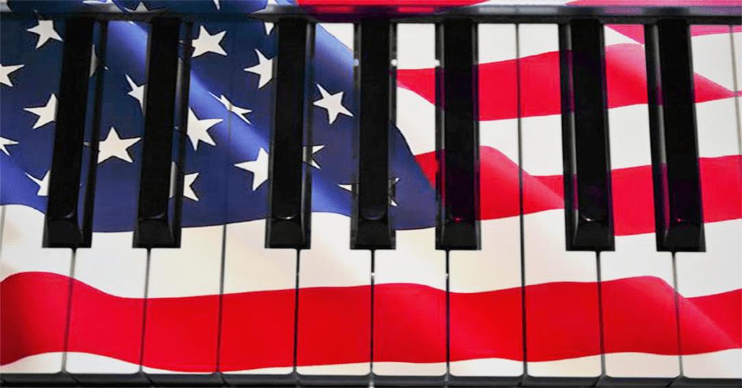 Piano flag