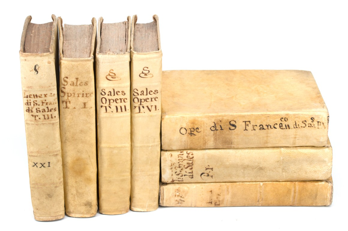 Vellum Books by Saint Francis de Sales