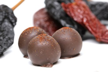 Mayan Chocolate Truffle