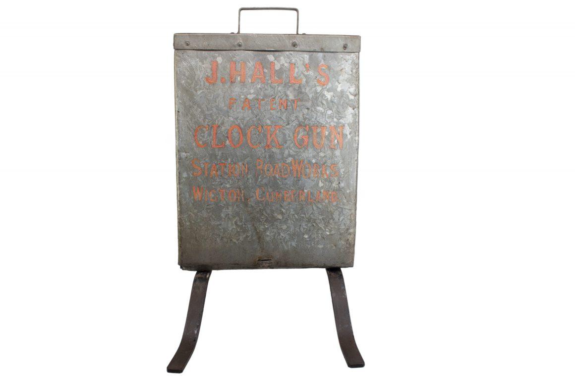 John Hall's Patent Automatic Clock Gun