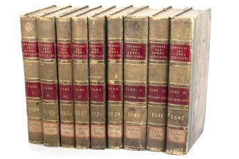 Journal Des Armes Spéciales 1834 - 1842