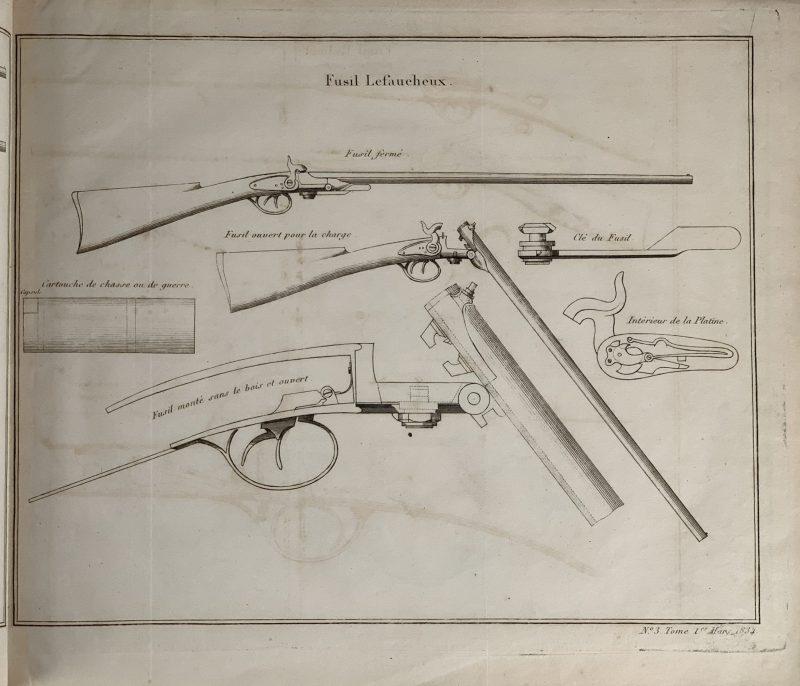 Fusil Lefaucheux