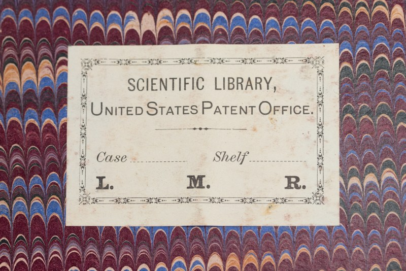 The Scientific Library of The United States Patent Office