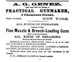 A. G. Genez Practical Gunmaker