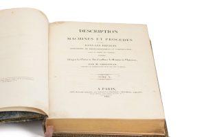 Title Page Description des Machines et Procédés spécifiés dans les Brevets D'Invention