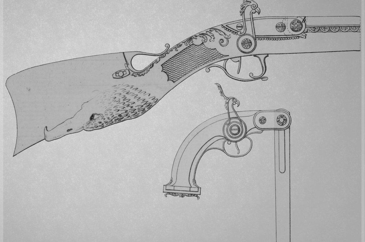 Pauly Guns from Description des Machines et Procédés spécifiés dans les Brevets D'Invention