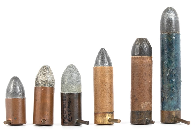 12mm pinfire cartridges