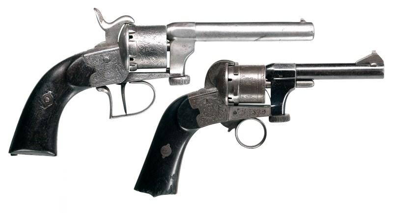 Mariette 7mm Pinfire Revolvers