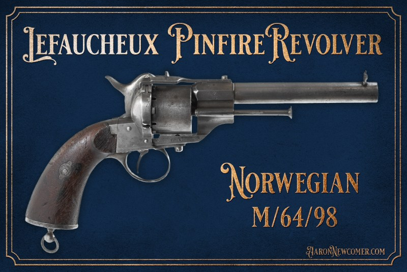 Lefaucheux Norwegian Pinfire Revolver