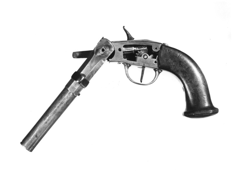 English Pauly pistol; from The Royal Armouries