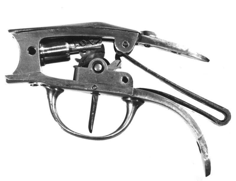 Fire Piston Mechanism from English Pauly pistol; from The Royal Armouries