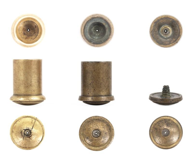 Early Pauly pistol cartridges