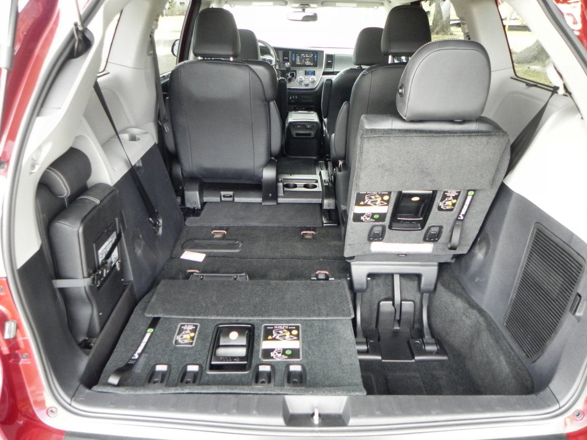 2015 Toyota Sienna Interior Review