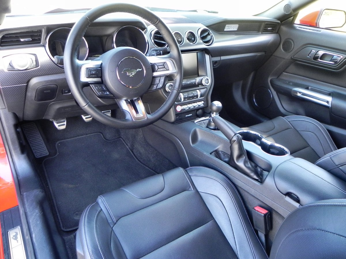 2015 Ford Mustang GT Interior Review