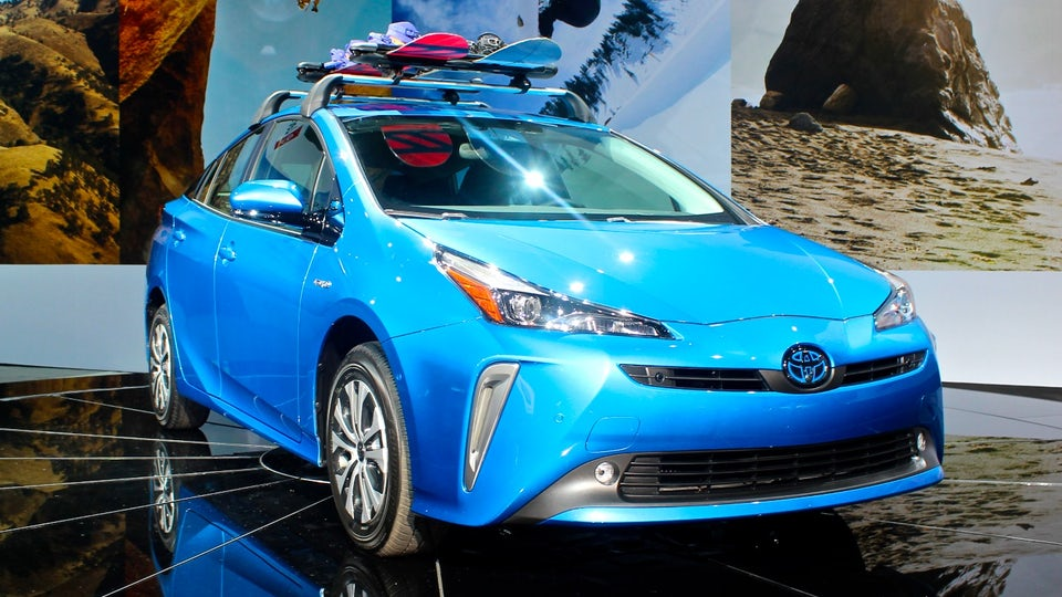 Toyota rolls out Corolla Hybrid and Prius AWD-e in Los Angeles