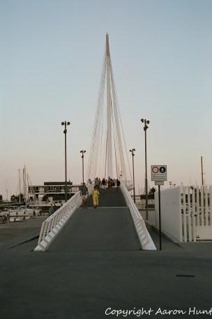 Awesome bridge to the island