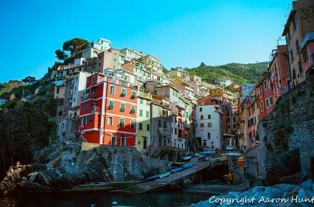 Riomaggiore Marina - a few minutes later...