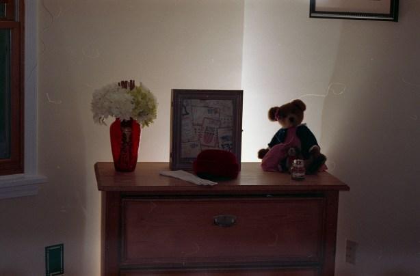 Backlit dresser