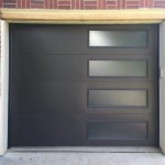 Modern Black Garage Door Modern Garage Doors Atlanta Ga