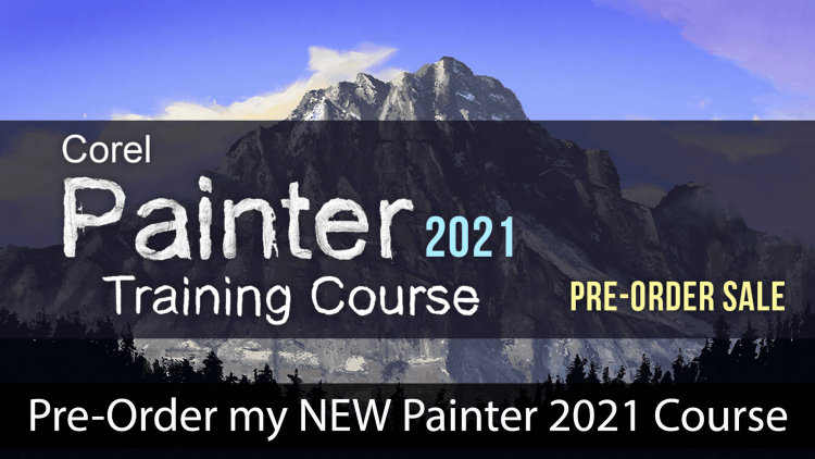 pre-order my corel painter 2021 training course